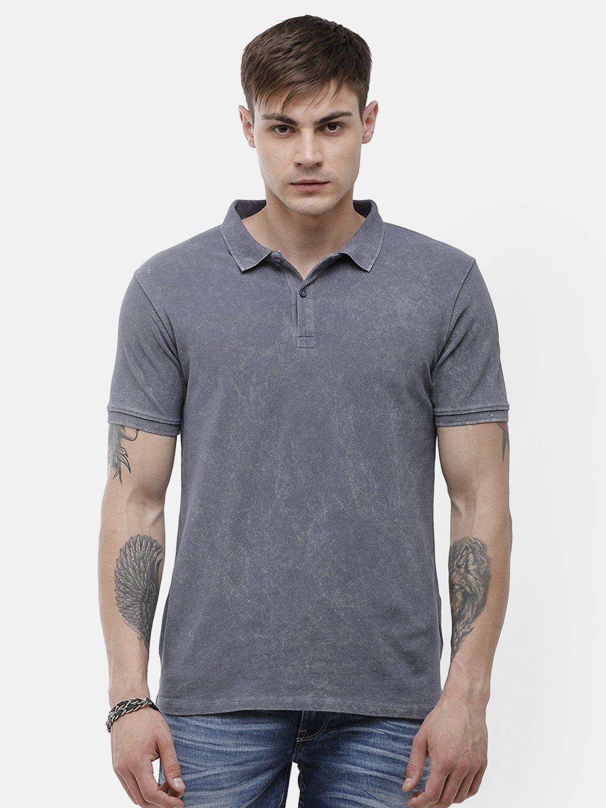 Voi Jeans | Gray T-Shirt ( VOTS1574)