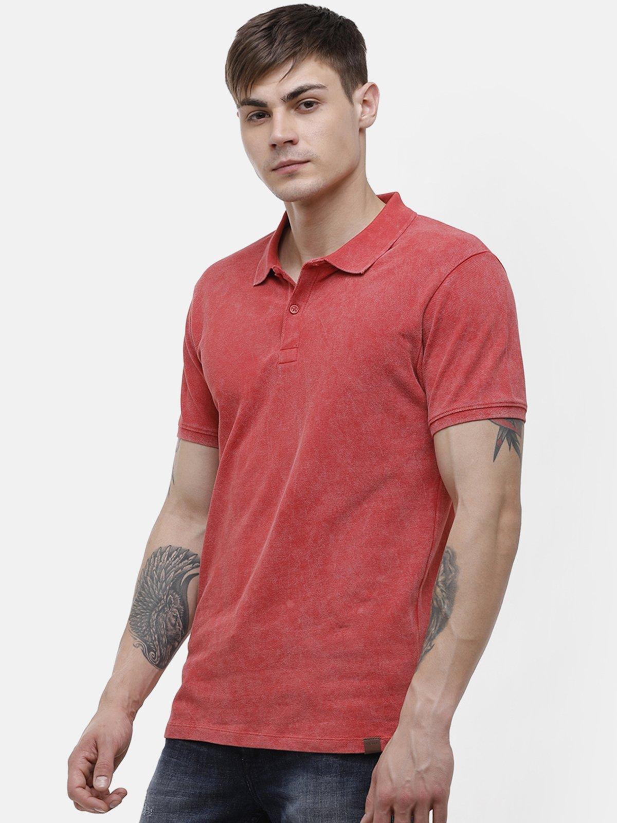 Voi Jeans | Red T-Shirt ( VOTS1575)