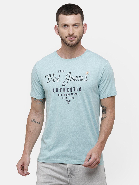 Voi Jeans   Blue T-Shirts (VOTS1578)