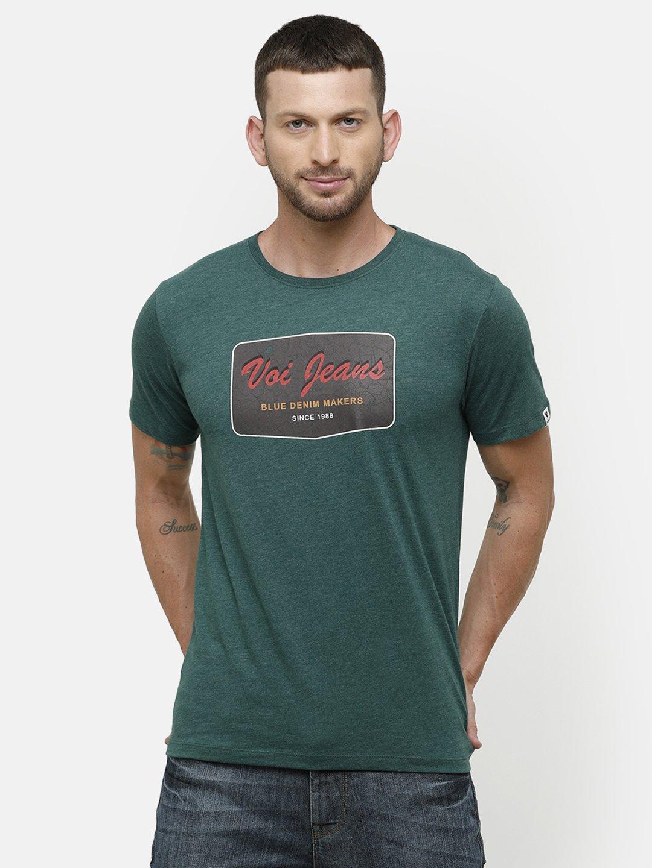 Voi Jeans | Green T-Shirts (VOTS1580)