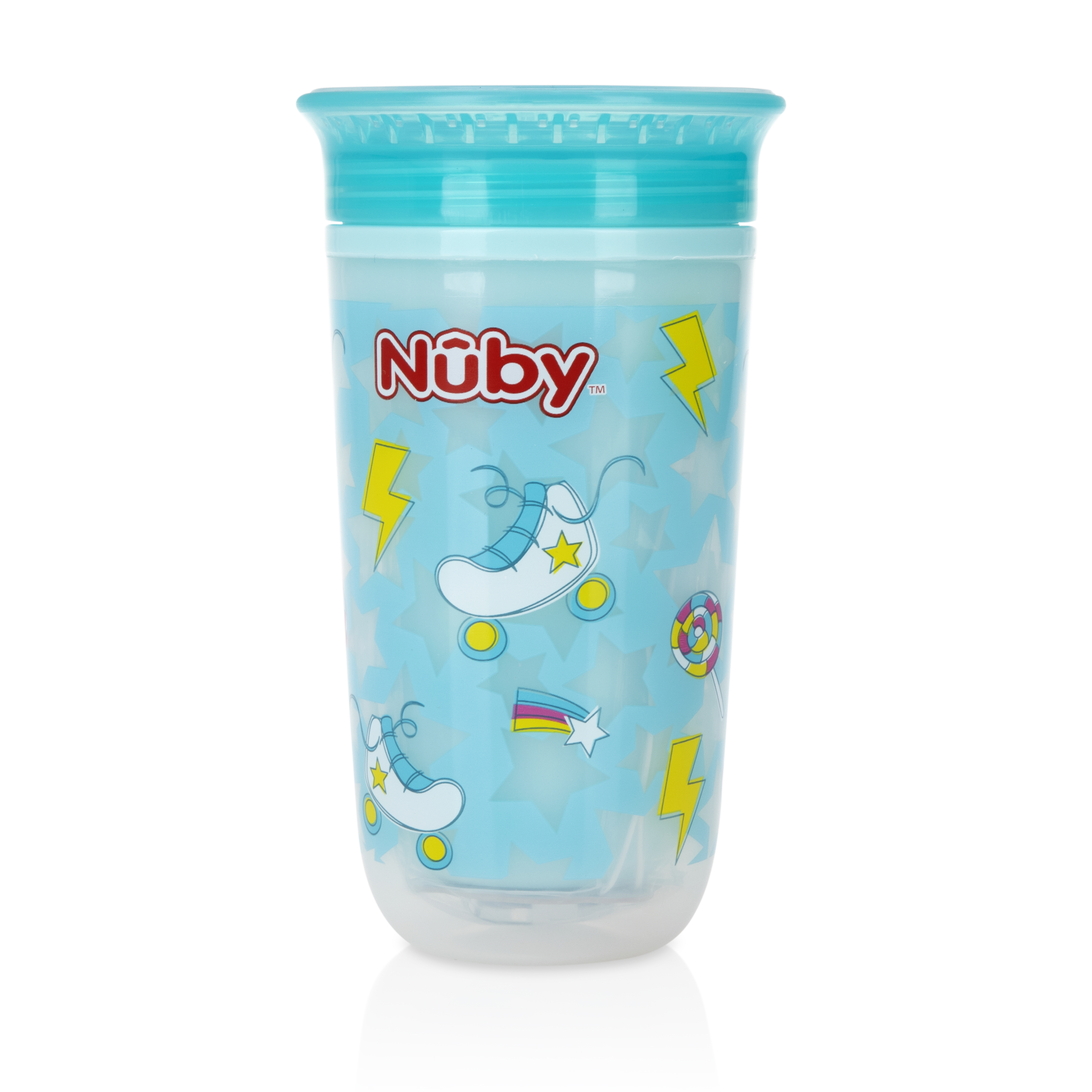 Mothercare   Nuby Light Up 360° Wonder Cup 300mlGrey