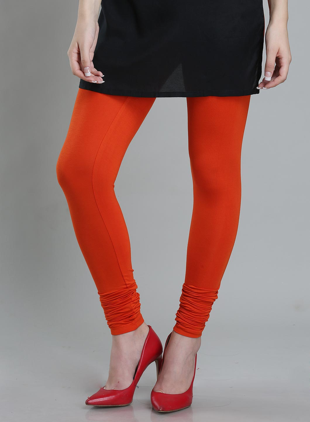 W | Wishful by W-Women Orange Color Churidar
