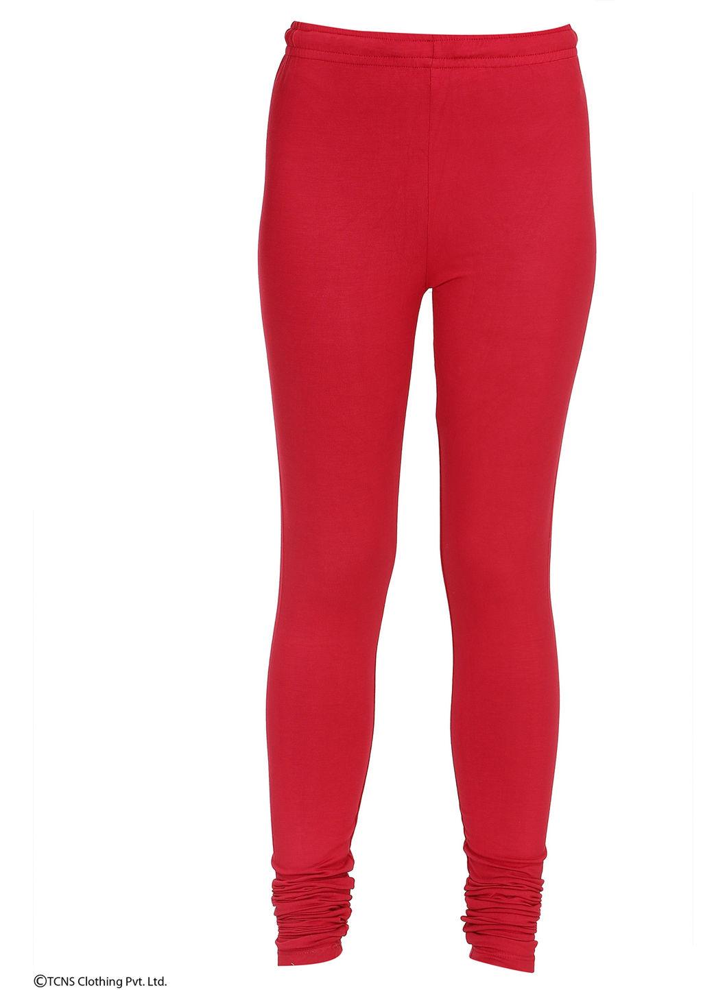 W | Wishful by W-Women Red Color Churidar