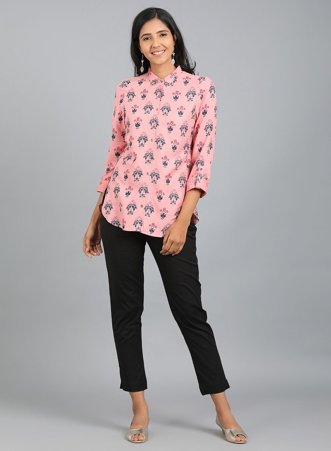W   W Women Pink Color Top