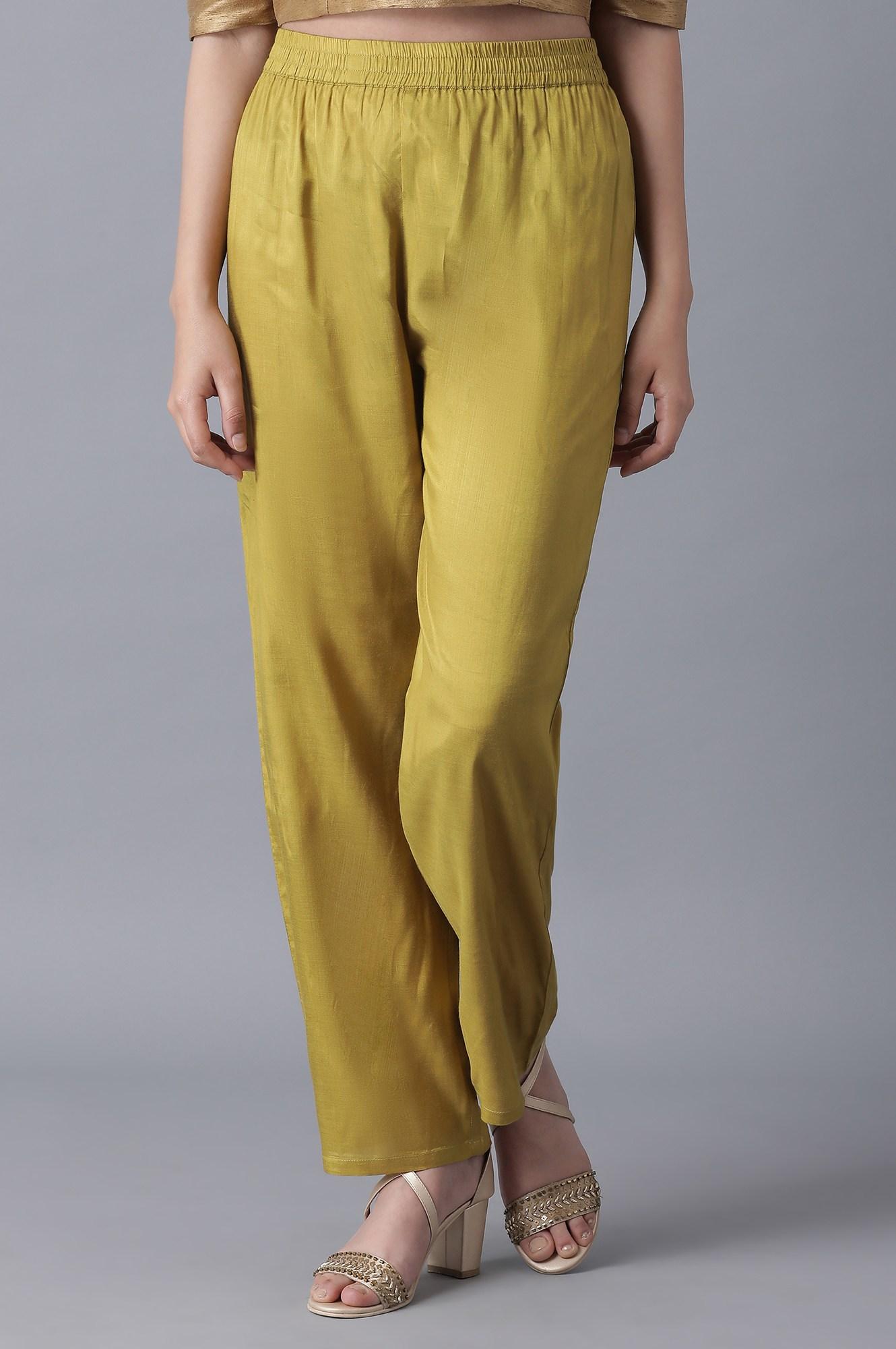 W | Wishful by W Navy Blue Parallel Pants