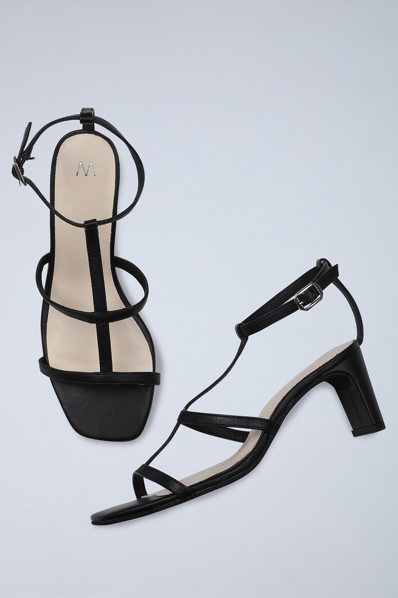 W | Square Toe Solid Western Heel