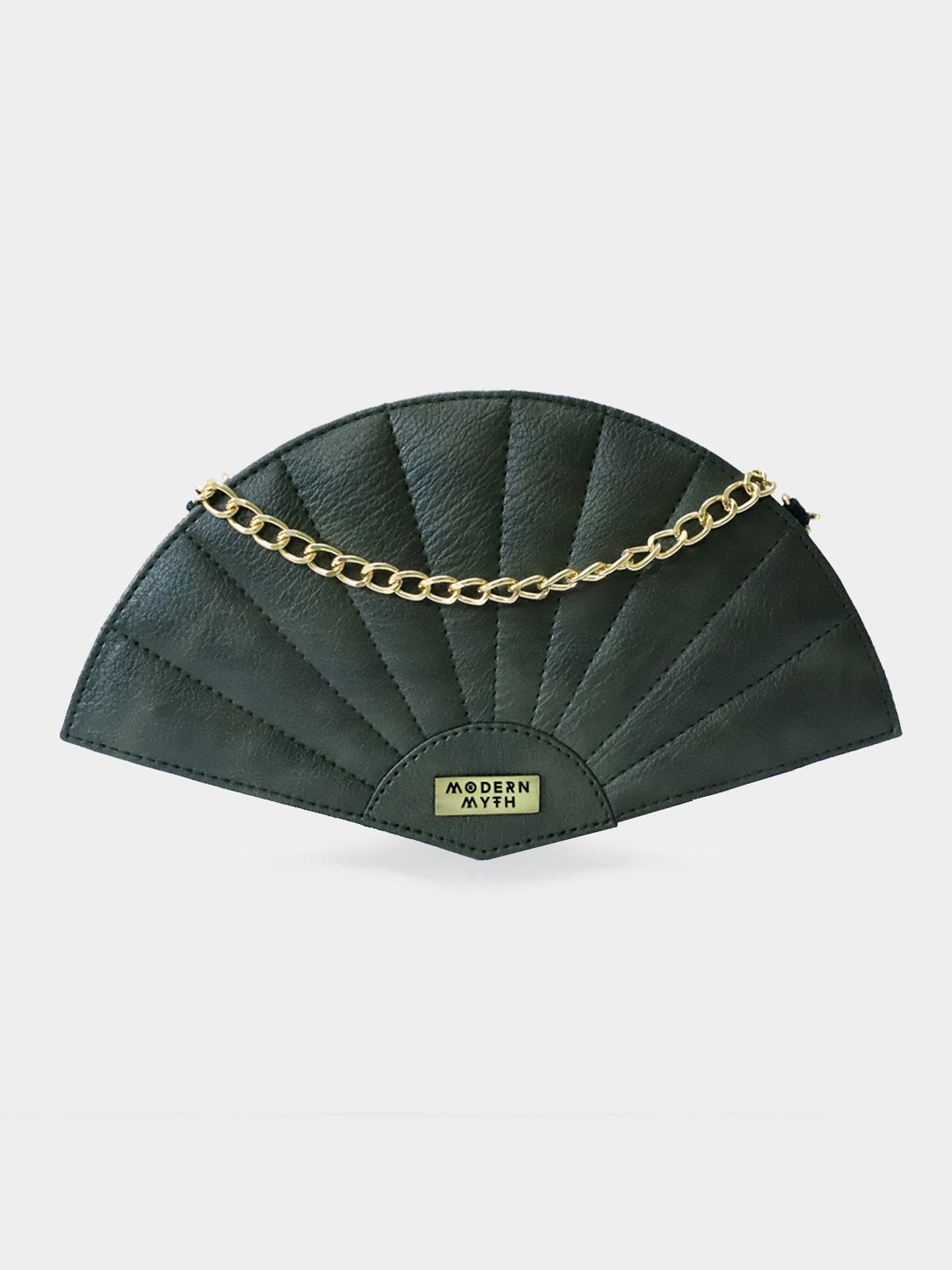 Modern Myth | Olive Textured Fan Bag