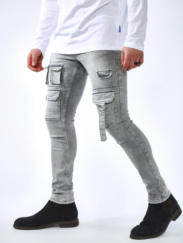 Blue Saint | Blue Saint Men's Grey Jeans
