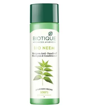 Biotique Advanced Ayurveda | BIOTIQUE Bio Neem Margosa Anti Dandruff Shampoo & Conditioner