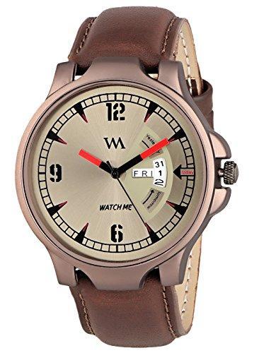 Watch Me   Watch Me Greywood Men Brown Analogue Watch GW-008-DDWM-018p1 Brown Onesize For Men
