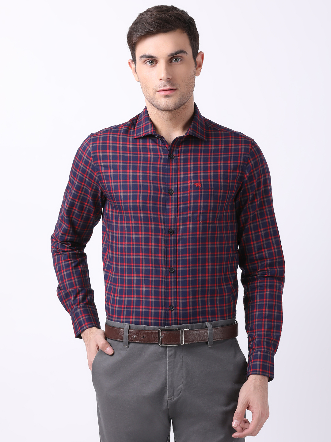 The Bear House   TBH Premium Formal Shirt with Side Panels