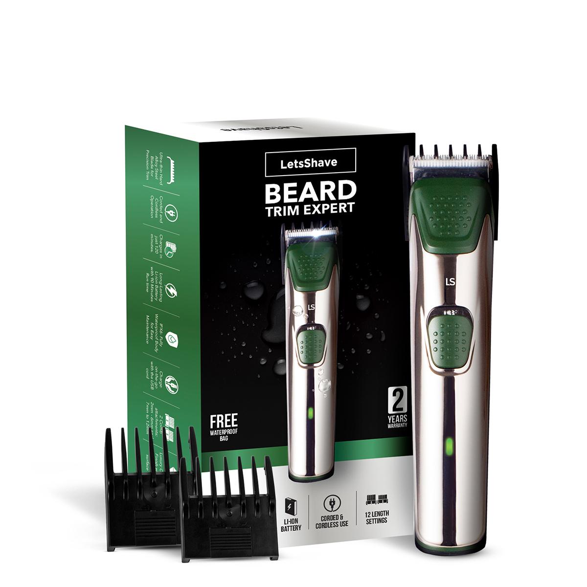 LetsShave | LetsShave Beard Trim Expert