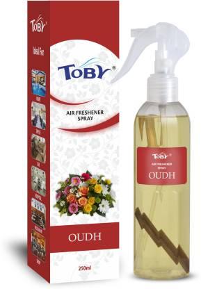 Toby | TOBY Oudh Air Freshener (Room Spray) - 250 ml*2