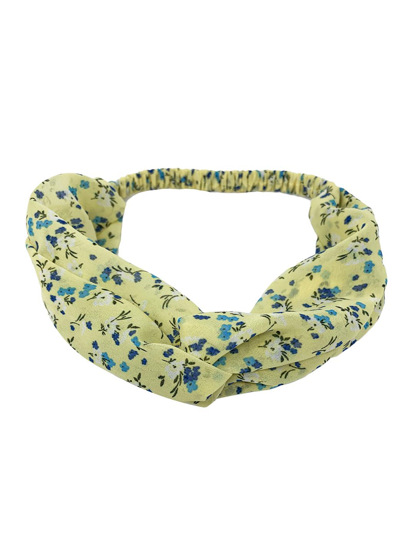 Mint & Oak   Mint & Oak Yellow Summer Love Hairband for Women