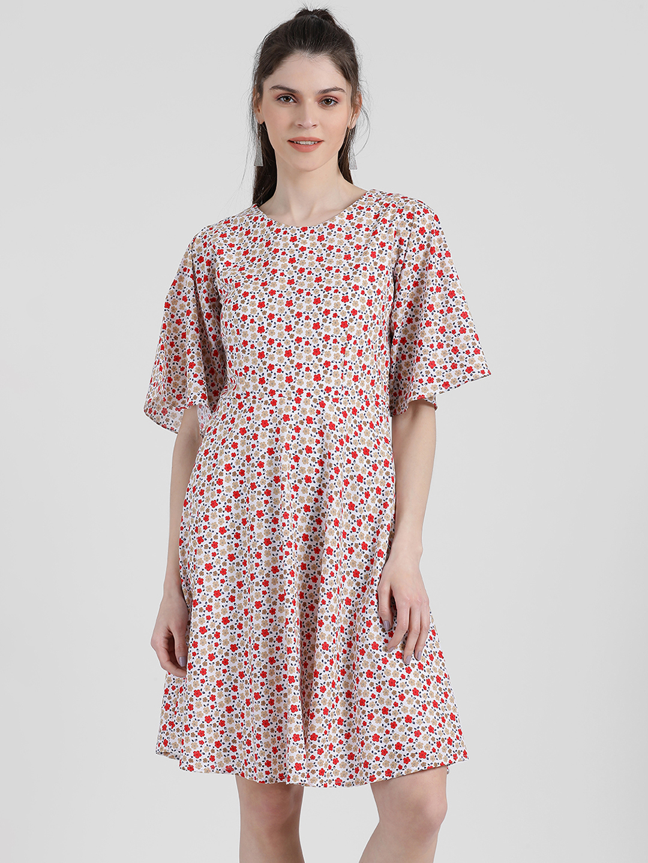 Zink London | Zink London Women's Printed Sheath Dress