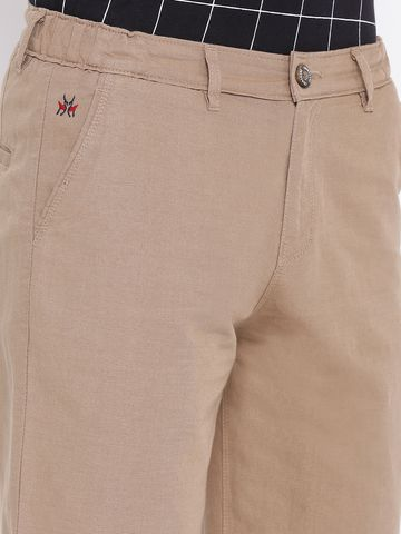 Crimsoune Club | Brown Solid Shorts
