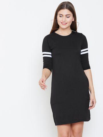 Jhankhi | Black Shift Dress