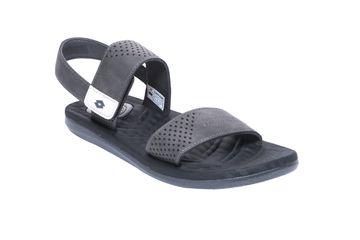 Lotto | Lotto Men's Black_Dark Grey Sollievo Sandals
