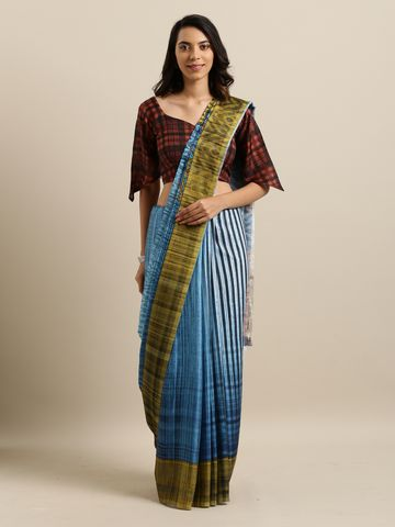 SATIMA | SatimaCotton SilkDigital Print Saree