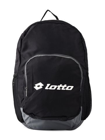 Lotto | Lotto Unisex Back Pack Street Black/Grey Laptop Bag