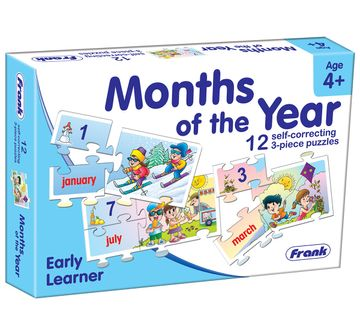 Frank | Frank Months Of The Year Puzzle