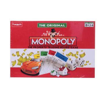 Funskool | Funskool Monopoly Original Board Games for Kids age 8Y+