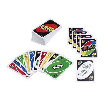 Mattel   Mattel Uno Card Game Games for Kids age 7Y+