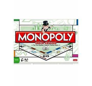 Funskool | Funskool Monopoly India Edition Board Games for Kids age 8Y+