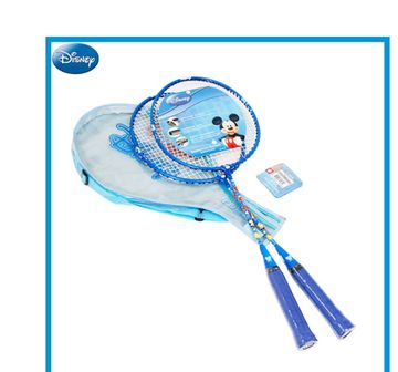 Disney | Disney Mesuca Mickey Mouse Blue Badminton Set with Cover, Outdoor Sports for Kids age 4Y+