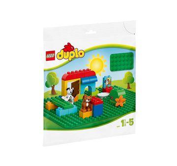 LEGO | NE LARGE GREEN BUILDING PLATE