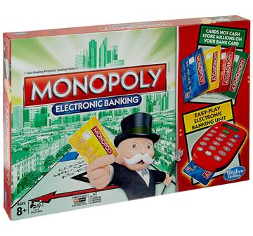 Hasbro Gaming | Hasbro Gaming Monopoly E-Banking Board Games for Kids age 8Y+