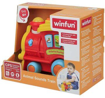 WinFun | Winfun Animal Sounds Train - Red & Yellow