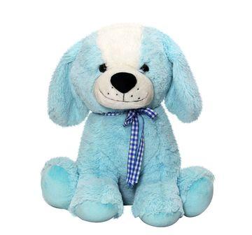 Soft Buddies | Soft Buddies Sitting Dog 36 Cm Quirky Soft Toys for Kids age 12M+ - 38.1 Cm