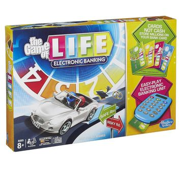Hasbro Gaming | Hasbro Gaming Game Of Life Electronic Banking Game Board Games for Kids age 8Y+