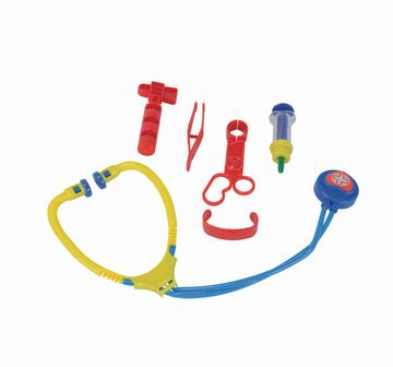 Simba   Simba - Doctor+ Doctor Case, 2-Asstorted Roleplay Sets for Kids Age 3Y+ (Red)