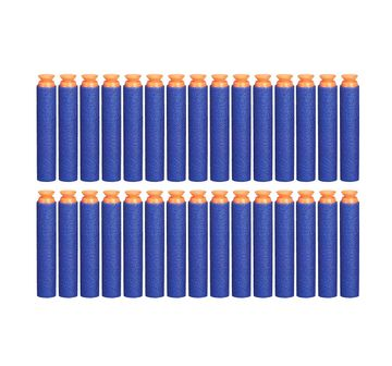 Nerf | Official Blue Nerf Elite Suction Darts 30-Pack Refill For Nerf Elite Blasters - Target Games for Kids age 8Y+