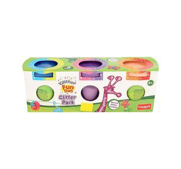 Fun-Dough   Fun Dough Glitter Pack Clay & Dough for Kids Age 3Y+