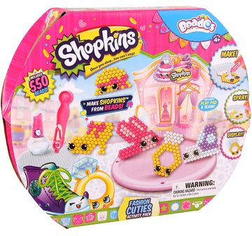 Beados | Beados S3 Shopkins Activity Pk Fashion Cuties