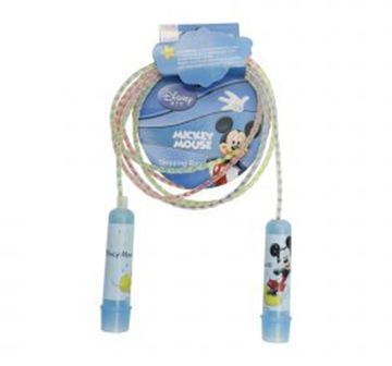 Disney | Disney Mesuca mickey Plastic Jump rope, Blue, 4Y+