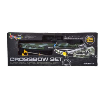 Comdaq | Comdaq Crossbow Camoflage - Big, Green Indoor Sports for Kids age 8Y+