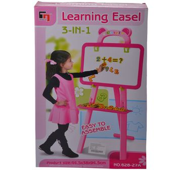 Comdaq   Comdaq Easel with Magnetic Letters Activity Set for Girls age 3Y+ (Pink)