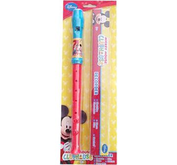 Disney   Disney Mickey Minnie Flute with Box Other Instruments for Kids age 3Y+