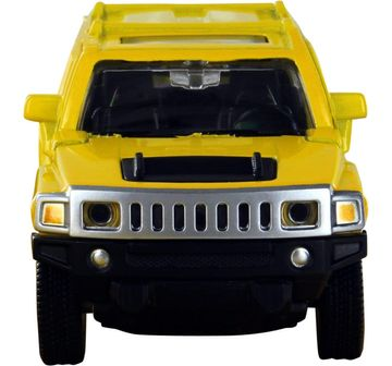 Msz | MSZ 1:43 Die Cast Hummer H3 Car for Kids age 3Y+ (Yellow)
