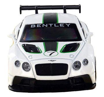 Msz | MSZ 1:43 Die Cast Bentley Continental Car for Kids age 3Y+ (White)