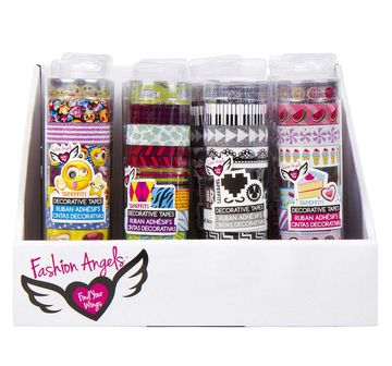 Fashion Angels | Fashion Angels Specialty Tapeffiti Tube DIY Art & Craft Kits for Kids age 8Y+