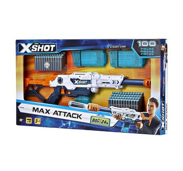 X-Shot | Zuru X-Shot Clip Blaster- 100 Pieces Clip Value Pack  Blasters for Kids age 8Y+