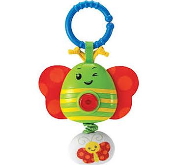 WinFun | Winfun Wriggles Musical Rattle Butterfly - Multicolor