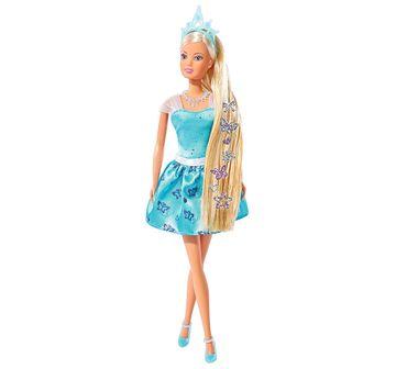 Steffi Love   Steffi Love - Hair Tattoo Princess, Blue Dolls & Accessories for Girls age 3Y+ (Blue)