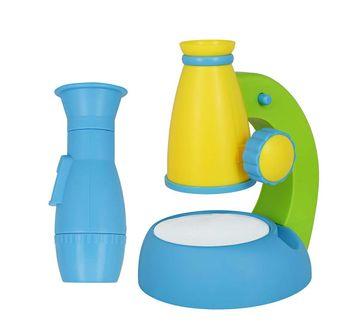 Comdaq   Comdaq Kids Blue Microscope Science Equipments for Kids age 3Y+