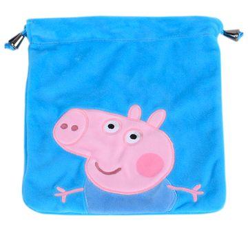 Peppa Pig | George Pig Blue Plush Toy Bag, 2Y+